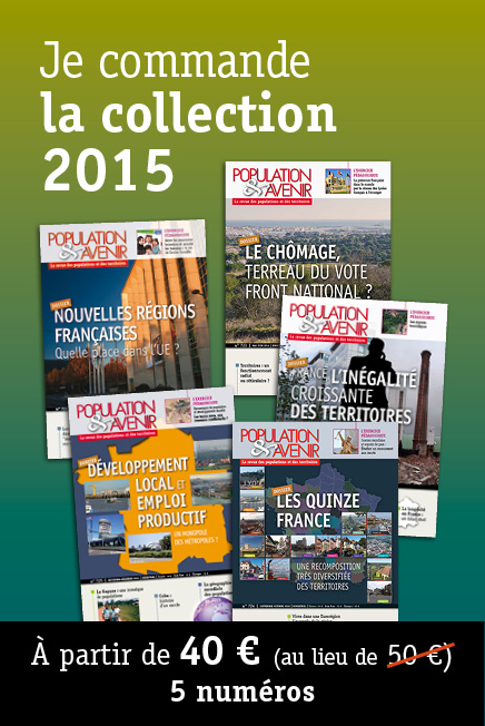 Collection annuelle 2015 de la revue Population & Avenir