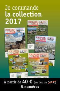 Collection annuelle 2017 de la revue Population & Avenir
