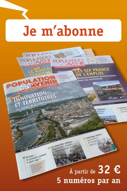 Abonnez-vous à la revue Population & Avenir